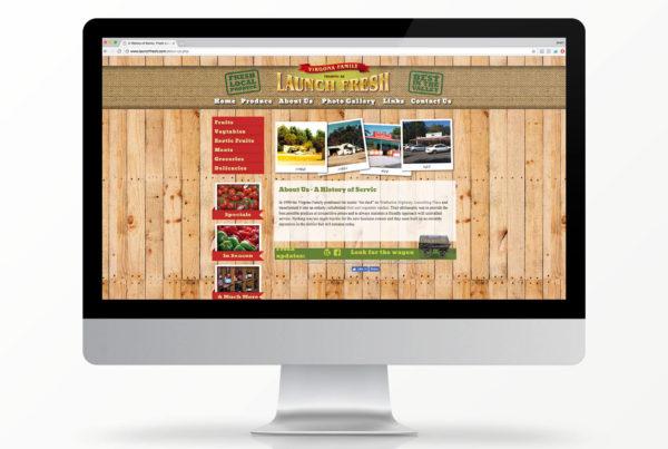 Launch Fresh website
