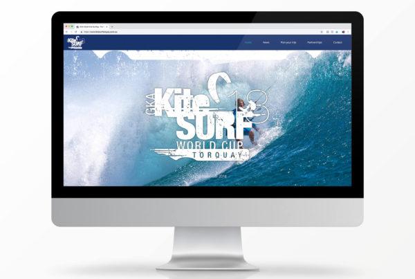Kite Surfing World Cup Website